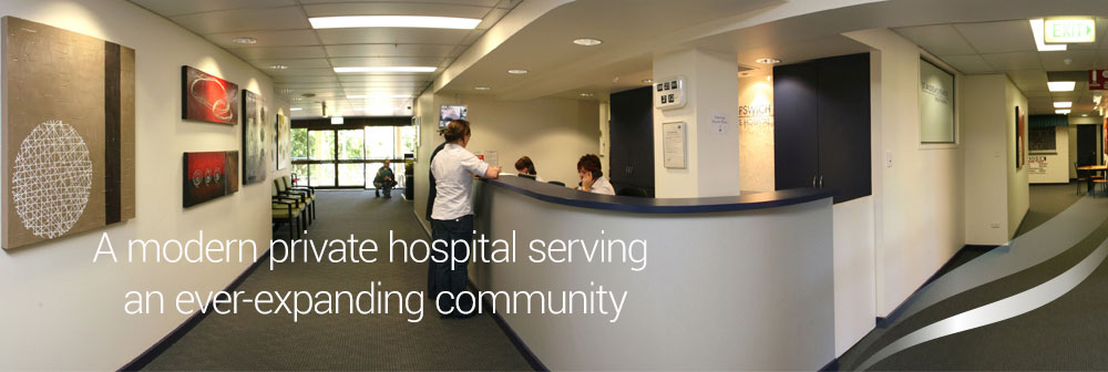 A modern private hospital serving an ever-expanding community